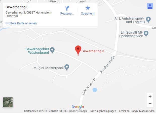 Technitex GmbH: Anfahrt